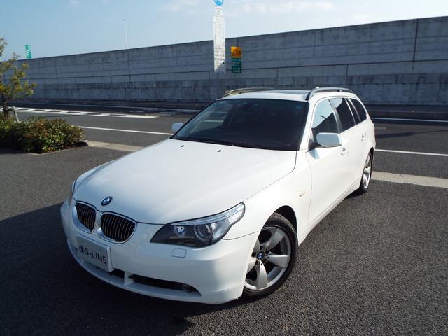 BMW 523iツーリング 本革 ムーンルーフ