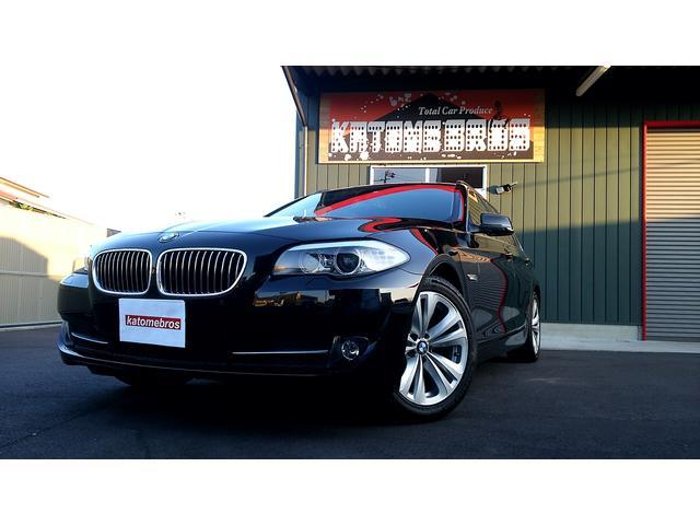 BMW 5シリーズ タイヤ4本新品交換済・地デジナビ・バックカメラ...