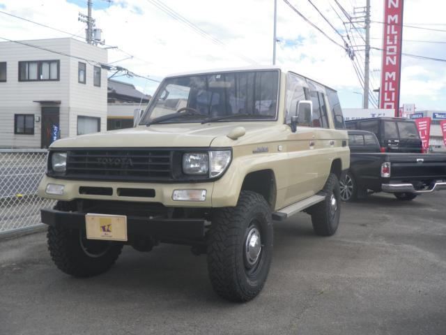 トヨタ SXワイド ディーゼル リフトアップ サンルーフ 4ナンバー