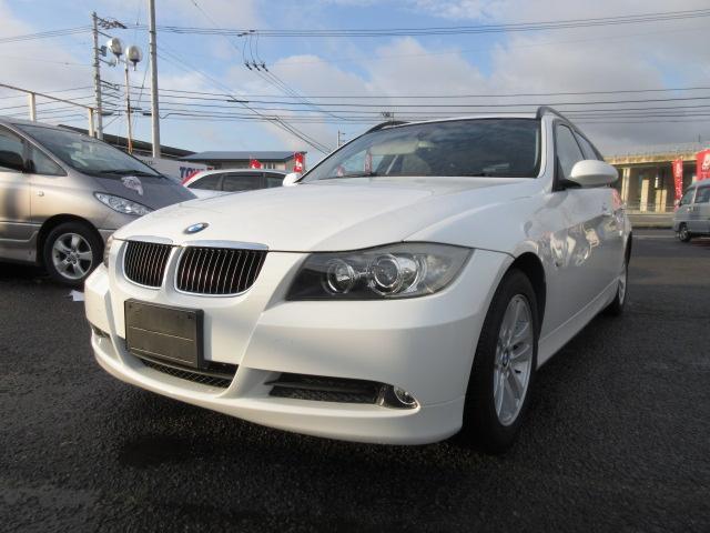 BMW 3シリーズ 320iツーリング ナビ キーフリー プッシュスタート 本革シート