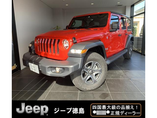 New スポーツ 4WD 右H下取 Uコネクト スマートキー(1枚目)
