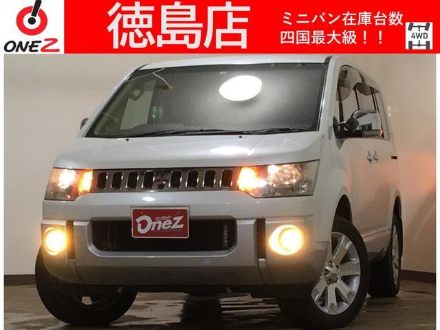 三菱 G ナビパッケージ 4WD 両側電動 純正HDDナビ