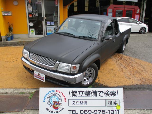 トヨタ エクストラキャブ マットカラー トノカバー オーバーフェンダー メッキ15ホイール 社外グリル ウインカーミラー シート張替え