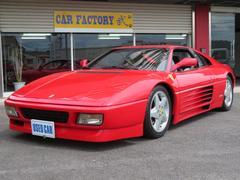 フェラーリ 348ts D車 本革シート CD マフラー