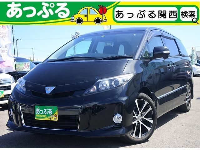 トヨタ アエラス プレミアムエディション純正SDナビ・フルセグ