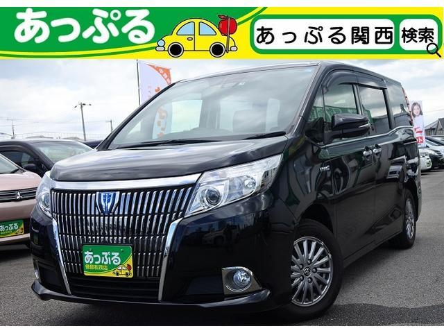 トヨタ HV Gi セーフティセンス・純正SDナビ・両側パワスラ