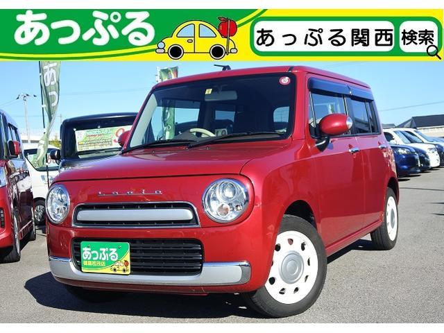 スズキ X 純正ナビ・地デジ・バックカメラ・革調シート・ETC