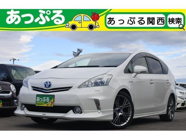 「トヨタ」「プリウスα」「ミニバン・ワンボックス」「徳島県」の中古車