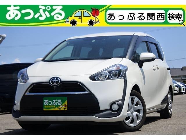 トヨタ シエンタ X ナビ CD DVD BT Bカメラ ETC 片側PS