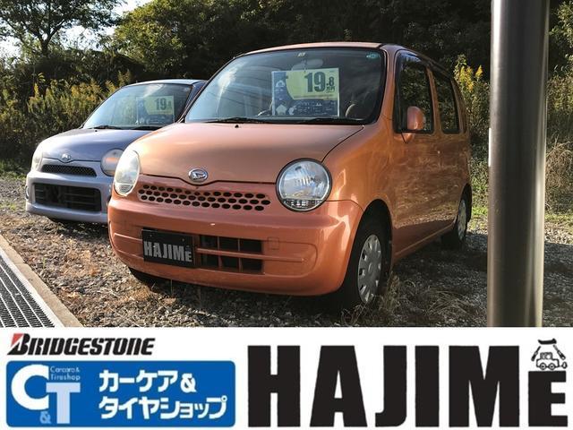 ダイハツ X 軽自動車 オレンジ AT 保証付 AC