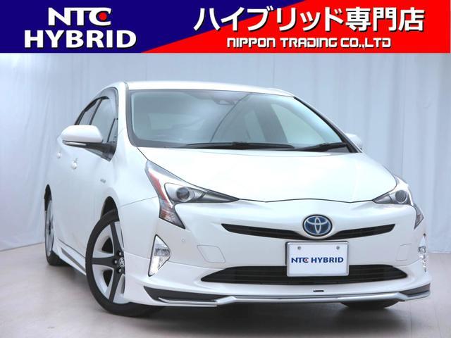 トヨタ モデリスタエアロ・本革シートカバー・純正ナビ・バックカメラ