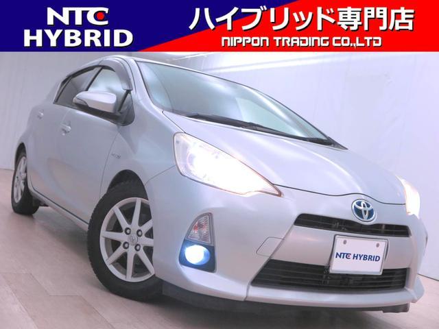 トヨタ アクア S 前期 フルセグ Bluetooth ETC シートヒーター