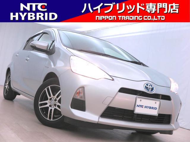 トヨタ アクア S 前期 純正ナビ ワンセグ ETC プッシュスタート
