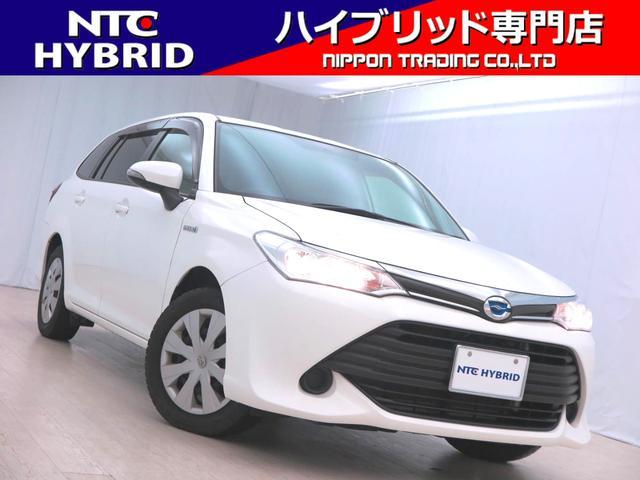 トヨタ カローラフィールダー ハイブリッド 社外オーディオ ETC ナノイーエアコン TRC