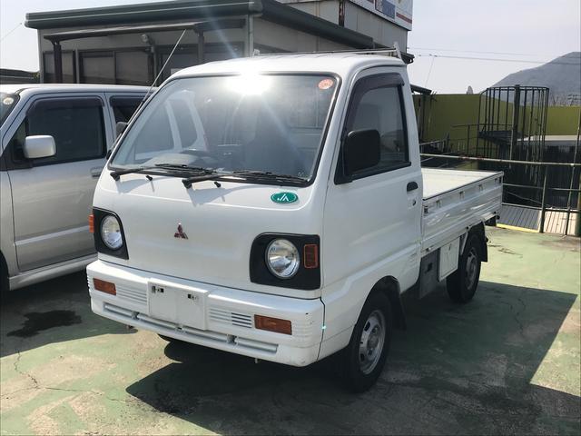 三菱 AC 4速MT 軽トラック ETC