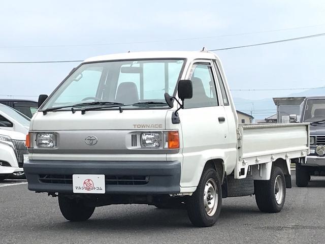 トヨタ Sシングルジャストロー 5MT エアコン パワステ 三方開 ETC