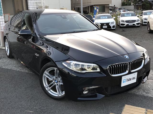 BMW 523i Mスポーツ レザーシート バックカメラ