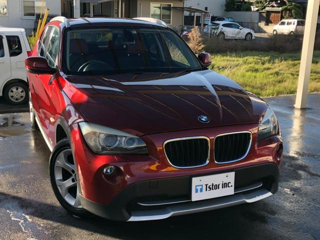 BMW sDrive 18i 女性ワンオーナー 革巻きステアリング