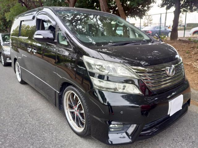 トヨタ 2.4Z ワーク20インチ 車高調