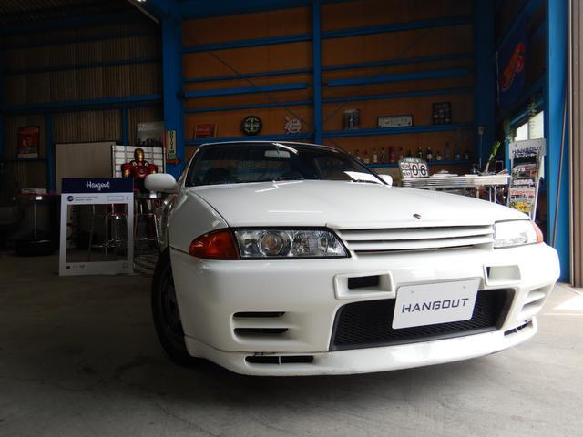 日産 GT-R nismoバンパー HKSマフラー