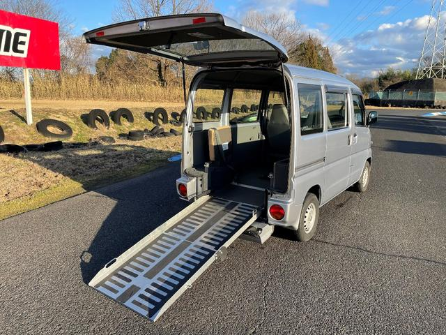 日産 クリッパーバン  車いす移動車 福祉車両