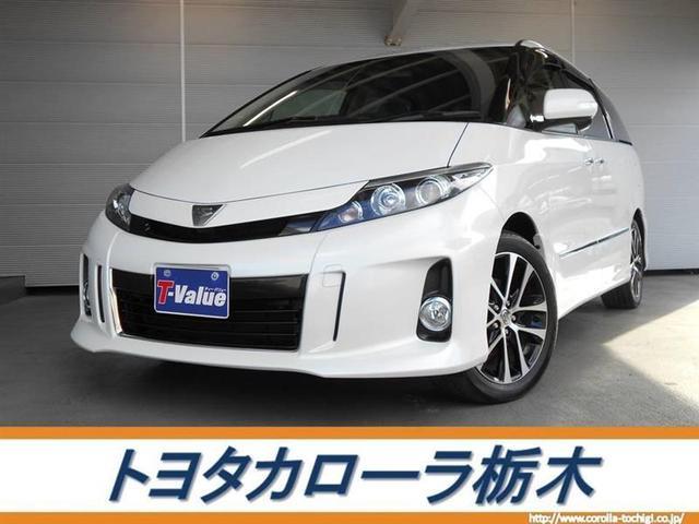 トヨタ アエラス ナビ・BT・後席モニター・バックモニター・ETC