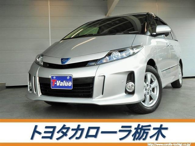 トヨタ アエラス HDDナビBT・バックモニター ETC 寒冷地仕様