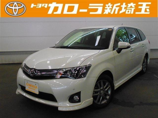 トヨタ 1.5G エアロツアラー HDDナビ フルエアロ 純正アルミ