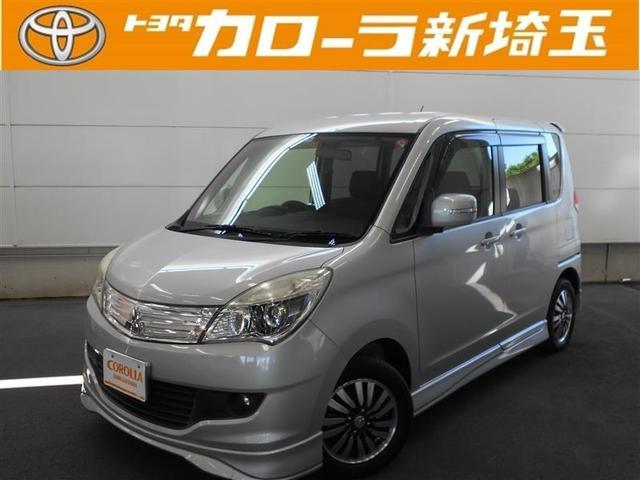三菱 S バックモニター メモリーナビ スマートキ- 純正アルミ