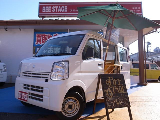 スズキ 新規製作オリジナルキッチンカー 東京用大型シンク付き