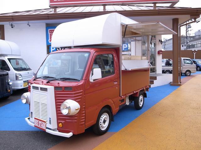 日産 DX キッチンカー 移動販売車 ケータリング フレンチ