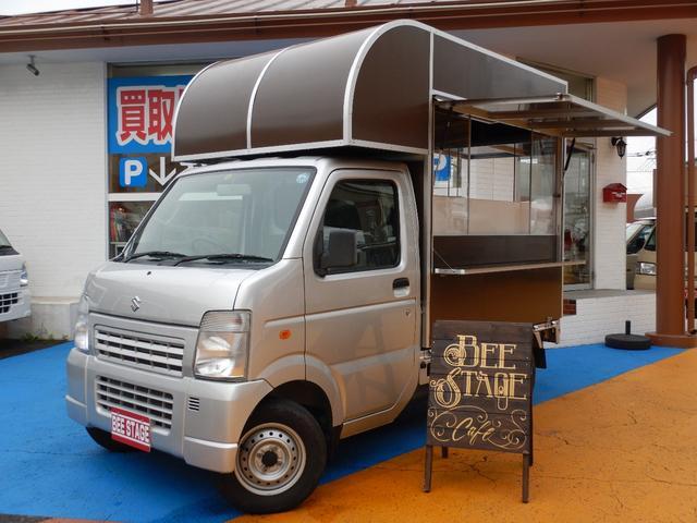 スズキ KCエアコン・パワステ 4WD キッチンカーベース車
