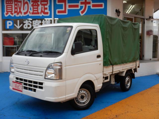 マツダ KCエアコン・パワステ 幌付き キッチンカーベース車