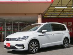 VW ゴルフトゥーランTSI Rライン ワンオーナー 禁煙車 プリクラッシュ