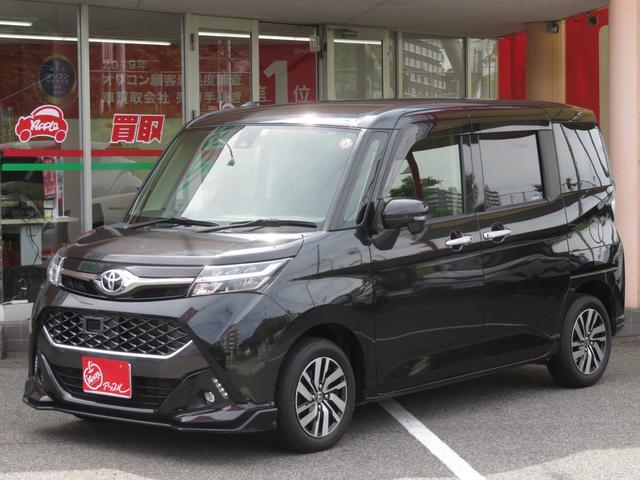 トヨタ タンク カスタムG S ワンオーナー 禁煙車 純正SDナビ フルセグ