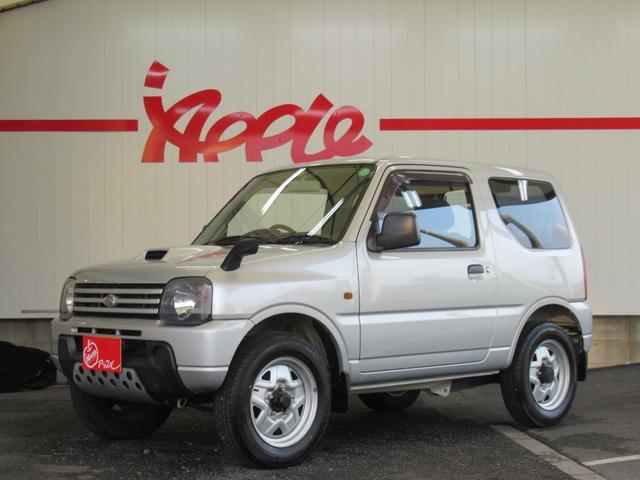 ジムニー(スズキ) XG 5速MT 4WD キーレス ETC 背面タイヤ 取説 保証書 中古車画像