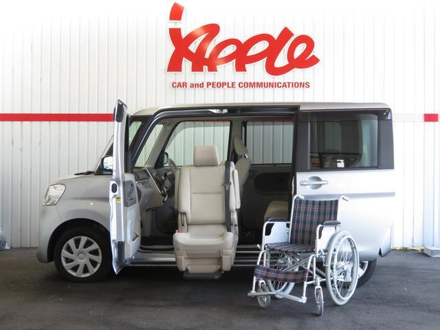 ダイハツ X SA 助手席リフトアップシート 福祉車 電動シモコン付き