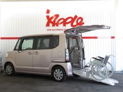 N BOX+G・Lパッケージ スローパー 福祉車 電動ウィンチ ナビ