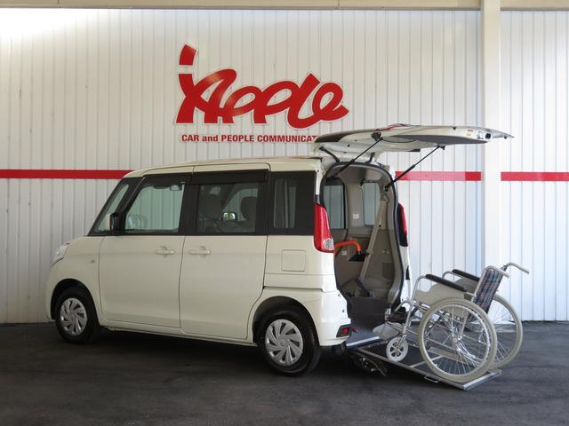 スズキ 車椅子移動車  スローパー 社外ナビTV レーダーブレーキ