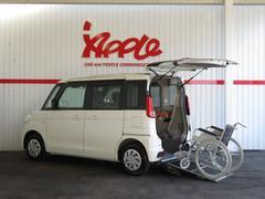 スペーシア車椅子移動車  スローパー 社外ナビTV レーダーブレーキ