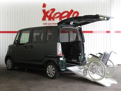 N BOX+福祉車スローパーG 電動ウインチ・リモコン付 車イス固定器具