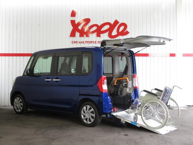 ダイハツ 福祉車スローパーX SAII 電動ウインチ パワースライド
