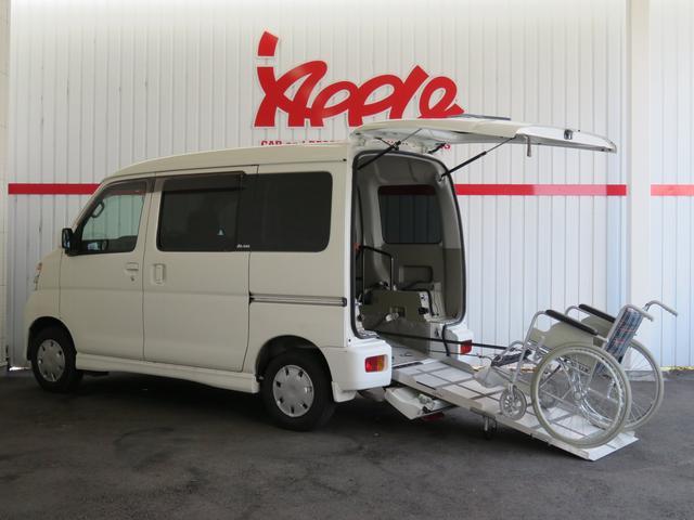 ダイハツ スローパー 電動ウインチ 車椅子固定装置 補助シート ターボ