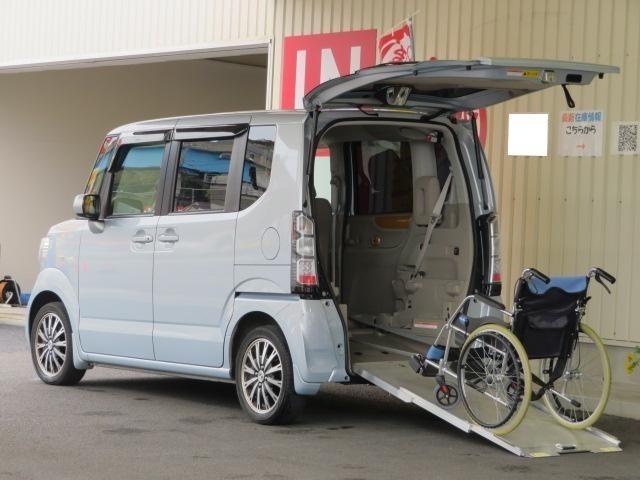 ホンダ G・Lパッケージ 福祉車 スローパー 電動ウインチ 禁煙車