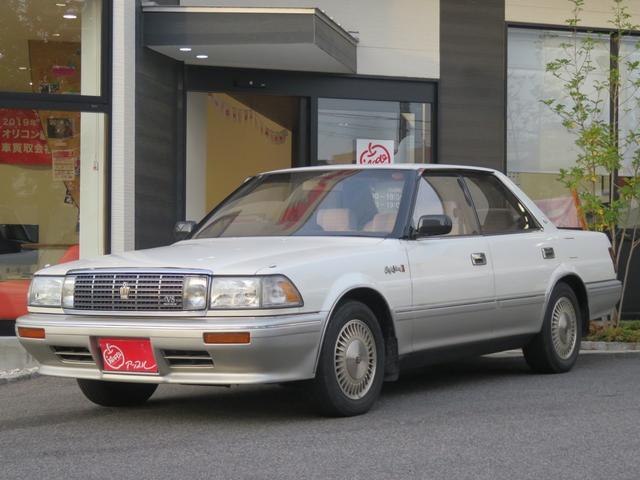 トヨタ ロイヤルサルーンG V8 メーカーナビ クルコン レザーH