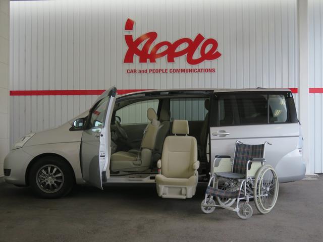 トヨタ L 福祉車両 サイドリフトアップ 電動車いす収納装置 HID