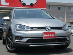 VW ゴルフオールトラックTSI 4モーション アップグレードPKG メーカーナビ