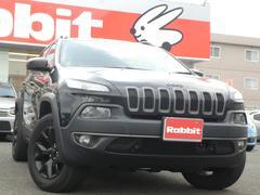 クライスラージープ チェロキーウォーリアー 限定150台 ワンオーナー 黒革シート