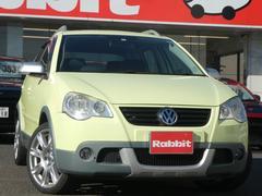 VW ポロクロスポロ HDDナビ 横滑り防止装置 ルーフレール