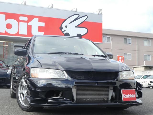 三菱 GSRエボリューションVIII SR GTウイング 車高調